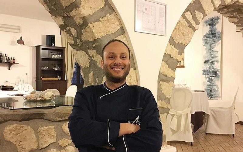 Lo chef Marco Calabrese