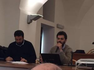 Il presidente della Pro loco di Camporeale Benedetto Alessandro illustra il progetto