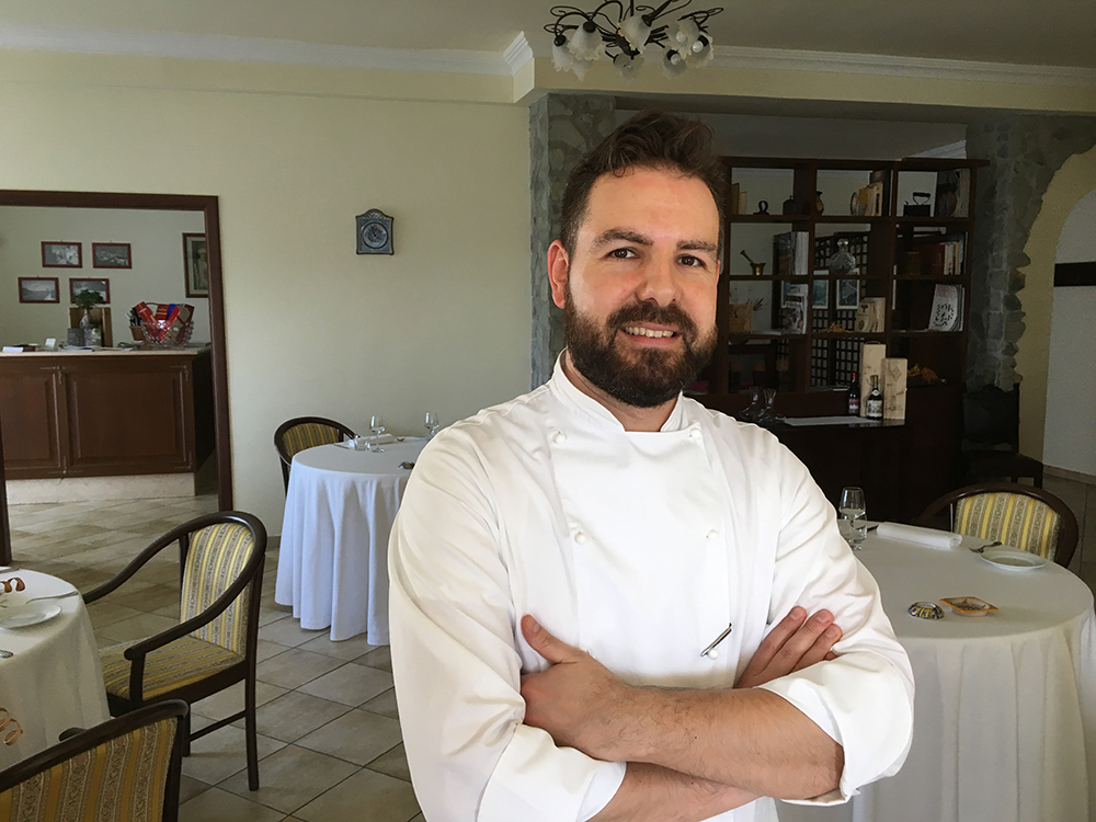Giuseppe Costantino, owner & chef
