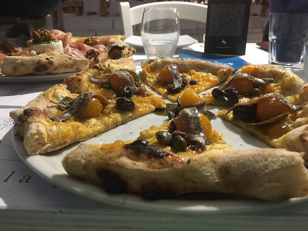 La pizza Regno delle due Sicilie