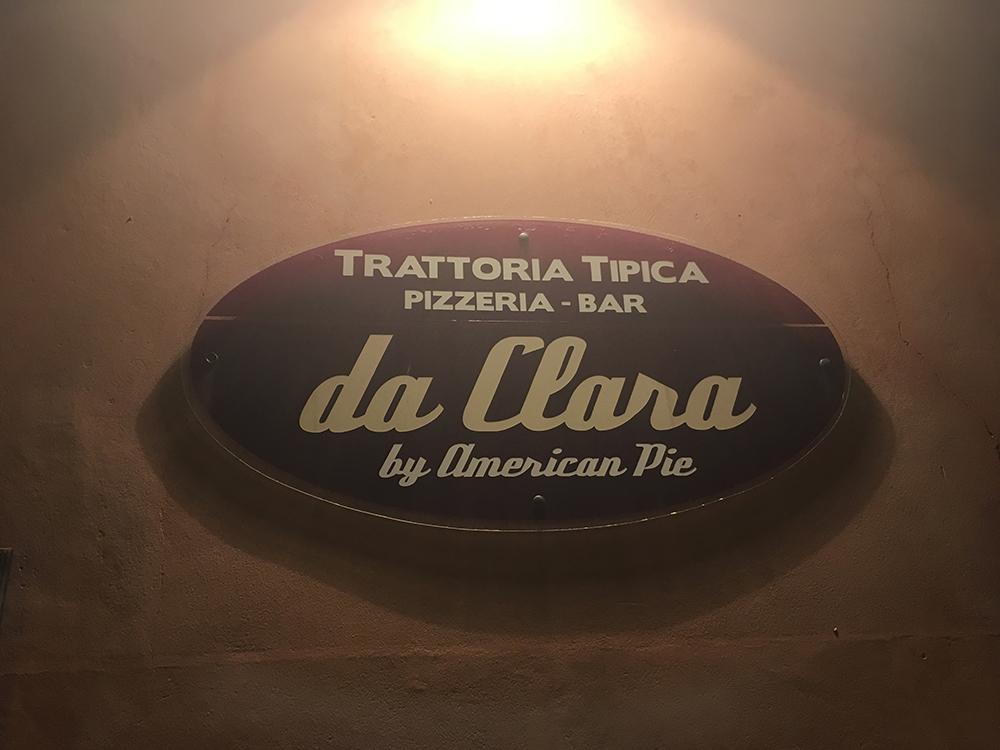 Pizzeria Da Clara