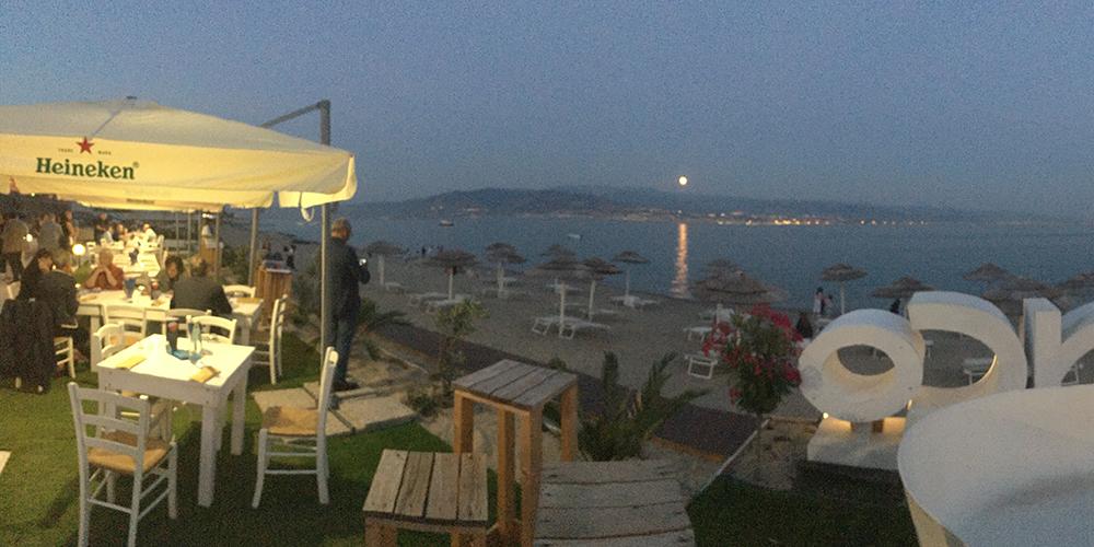 L'Orso Blanco - vista sullo Stretto di Messina