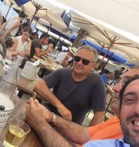 Franco Manca. A destra, Luca Caruso