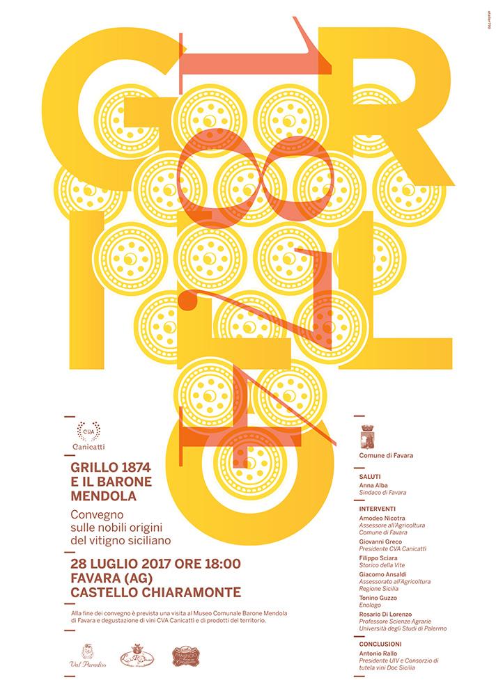 Manifesto Grillo, convegno, locandina