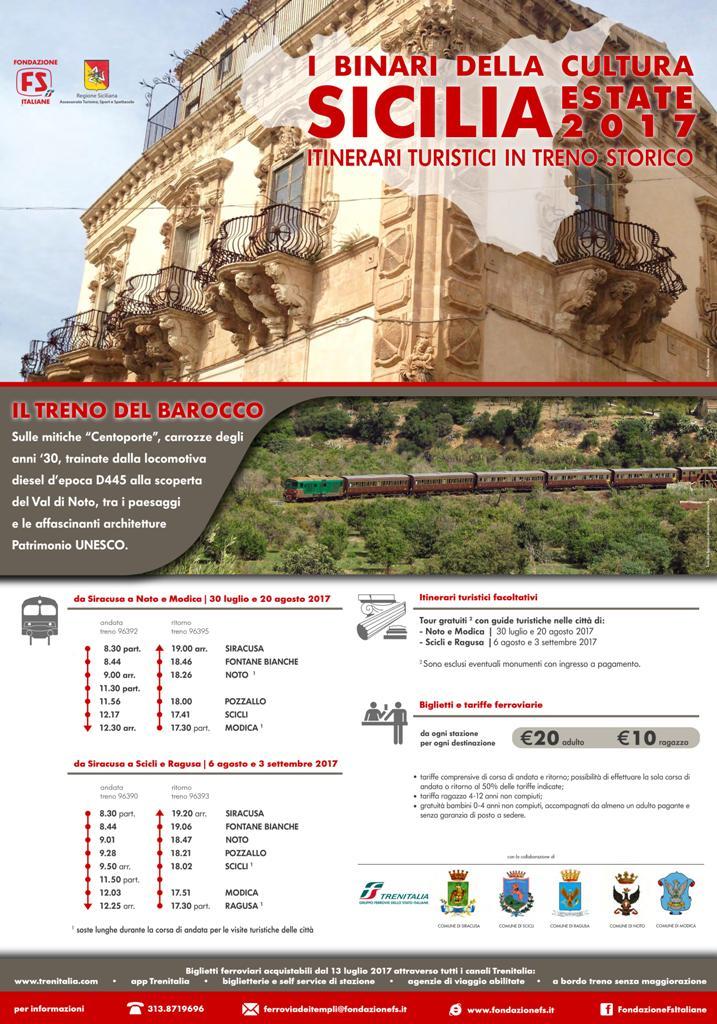 Treno del Barocco 2017