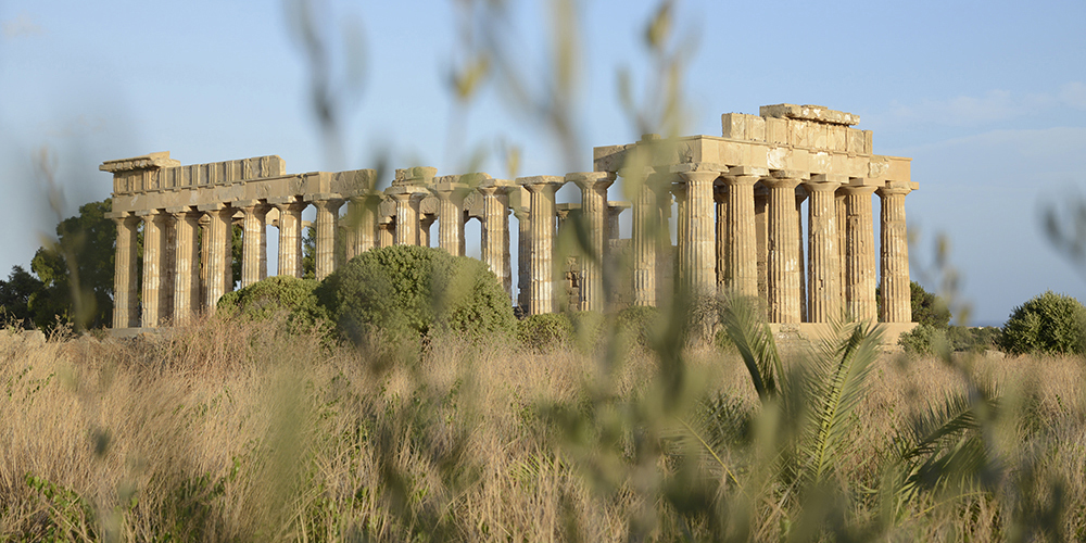 Il tempio C di Selinunte