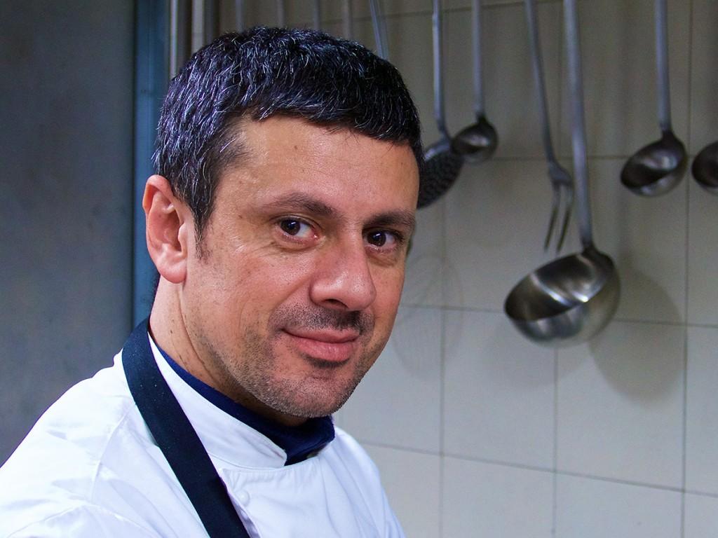 Franco Agliolo, chef e patron del ristorante Ambrosia di Sant'Agata di Militello