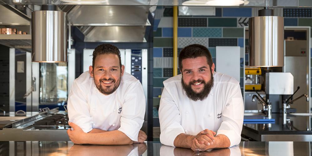 Peppe Causarano e Antonio Colombo, chef del Vota Vota Marina di Ragusa