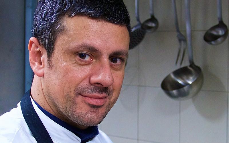 Franco Agliolo del ristorante Ambrosia di Sant'Agata di Militello (Me)