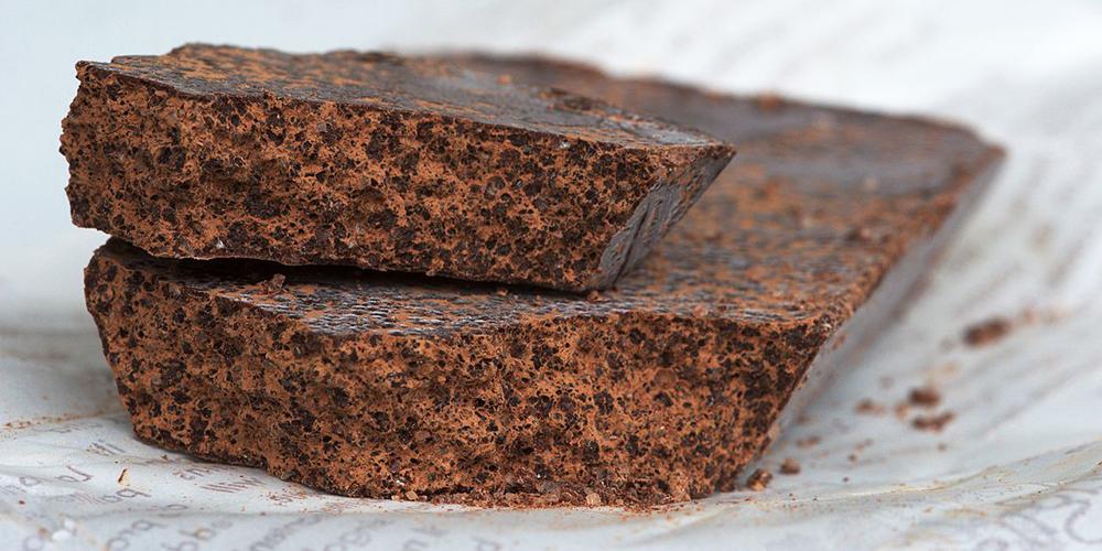 il cioccolato modicano con lo zucchero a vista
