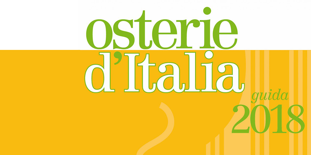Osterie d'Italia 2018, Slow Food Editore