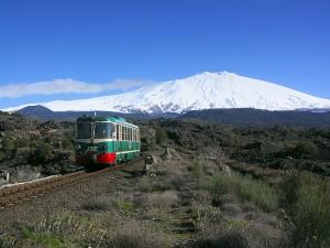 Treno vini Etna