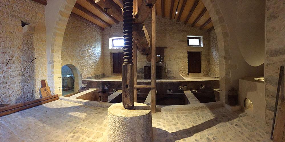 il torchio di Villa Maggio