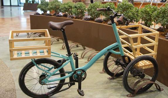 per spostarsi c'è la bicicletta FICO