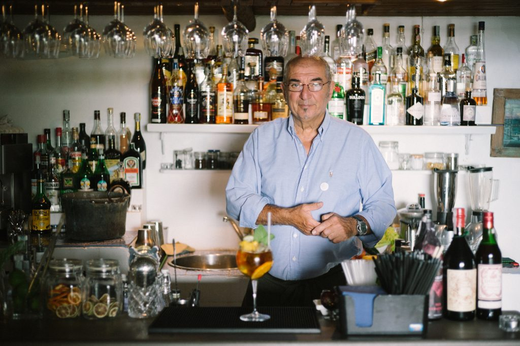 Daniele Bergamini - Barman dell'Hotel Ravesi