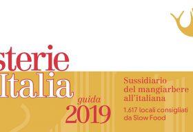 Osterie d'Italia 2019 di Slow Food Editore