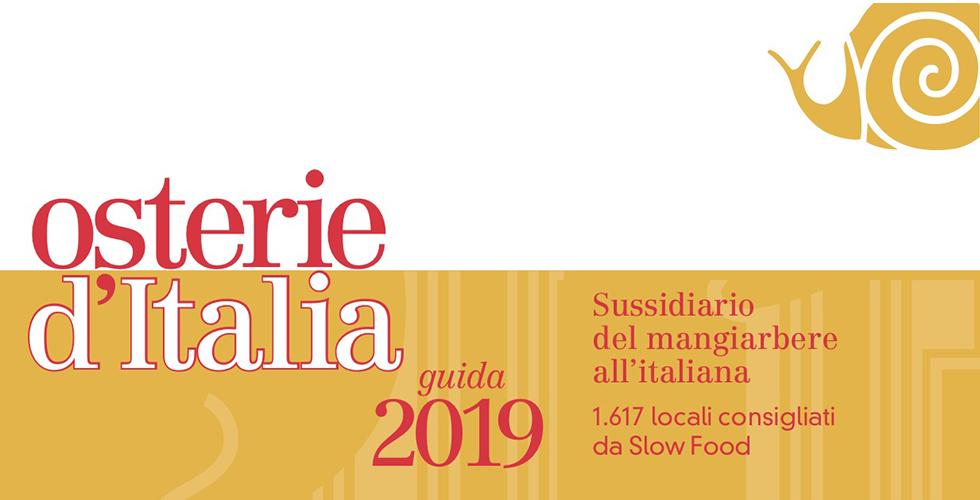 Risultati immagini per osterie d'italia 2019