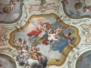 Soffitto affrescato di Palazzo Butera