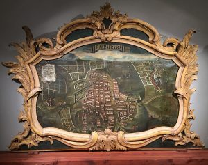 Palazzo Butera, il dipinto della città di Barrafranca