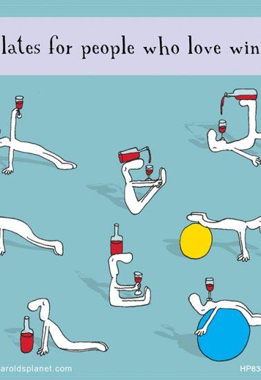 Pilates per gli amanti del vino