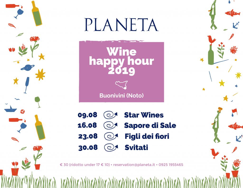 wine happy hour 2019 -Buonivini venerdì